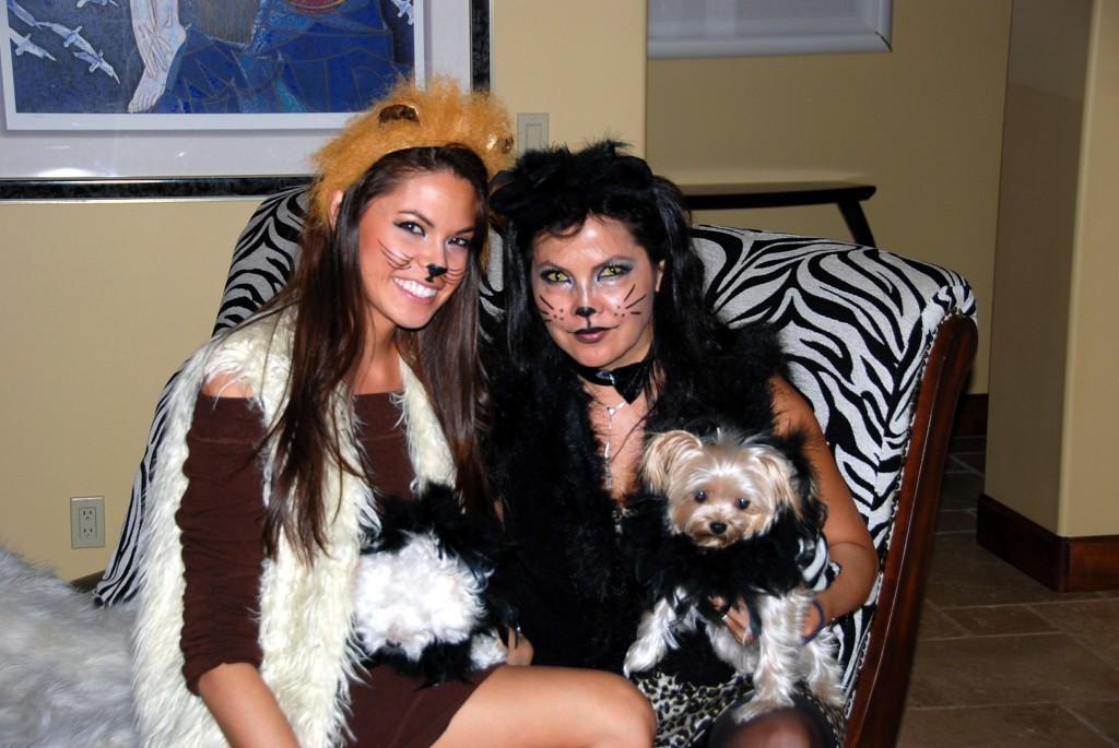Brenda and Courtney