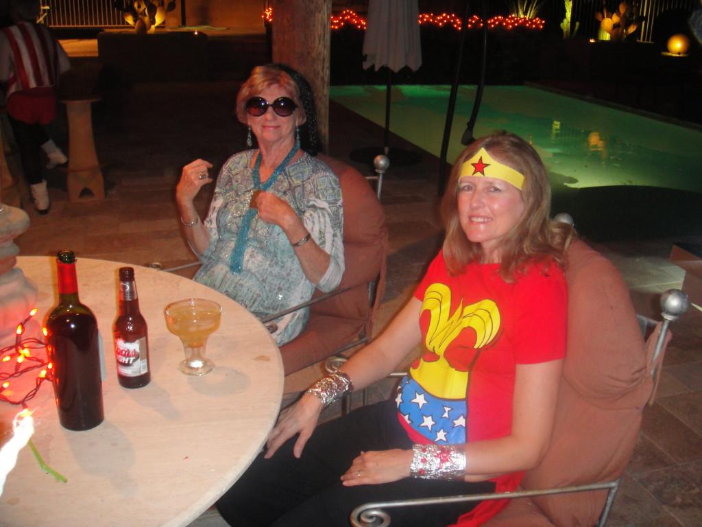 Gail and Diane